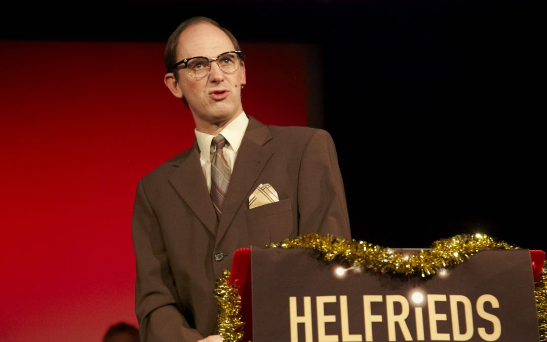 Helfrieds Strenge Kammer: nächste Show am 14. Dezember im ParkHaus (Napoleonstadl) Klagenfurt.